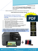 PROFORMA DE CISS + HP 8610