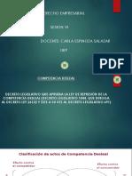 Competencia Desleal y Efectos de La Publicidad