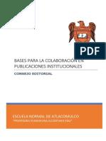 Bases Publicaciones Ena
