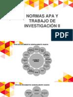 CAPACITACIÓN EN NORMAS APA Y TRABAJO DE INVESTIGACIÓN II.pptx