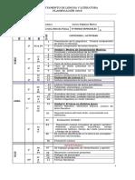 Planificación Lenguaje 7 Anual_2018