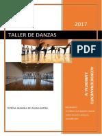 acondicionamiento taller de Danzas