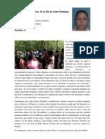 Asignatura de La Isla de Santo Domingo