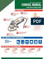 Afiche Esmeril Manual