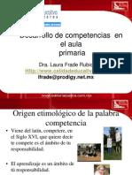 Desarrollo de Competencias en El Aula Primaria - Dra Laura Frade Rubio