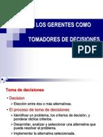 Los Gerentes Como Tomadores de Decisiones Administracion General 2018.Ppt