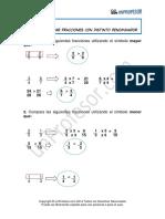 Solucion Comparacion de Fracciones Con Distinto Denominador 370