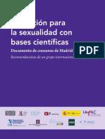 Educacion para la sexualidad con bases científicas. Documentos de consensos de Madrid.pdf