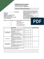 3. Ficha de Evaluación Estudiantil