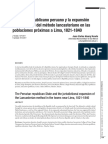 El Estado republicano peruano y la expansión jurisdiccional del método lancasteriano en las poblaciones próximas a Lima, 1821-1840