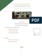 informe 8 de inorganica