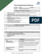 Formato de Requisición Asesor Publicitario