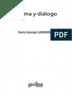 Gadamer Poema Dialogo
