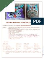 At Erg Crochet Pattern Owl Cushion