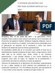 23-06-2017 Héctor Astudillo Sostiene Encuentro Con Idelfonso Guajardo Para Acordar Impulso a La Minería en Guerrero.