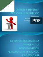 La Importancia de La Imagen y La Comunicación