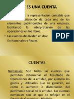 Cuentas y Catalogo
