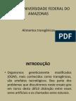 Ufam – Universidade Federal Do Amazonas alimentos transgenero