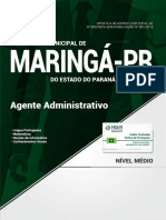 Prefeitura de Maring - Pr - Agente Administrativo