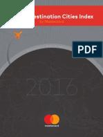 FINAL Global Destination Cities Index Report