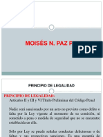 Legalidad e Imputacion Necesaria - UPSJB