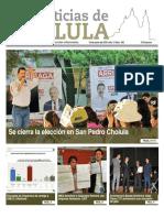 Las Noticias de Cholula del 18 Junio de 2018