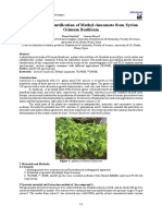 Isolation and Identification of Methyl cinnamate from Syrian Ocimum Basilicum .pdf