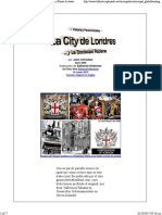 La City de Londres y La Sociedad Fabiana
