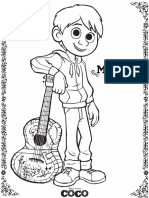 Coco Coloring Pages Pdf