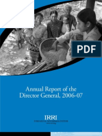 IRRI Annual Report 2006