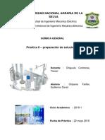Informe 6 Quimica General Mezcla de Sustancias