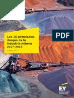 EY 10 Principales Industria Minera 2017 2018