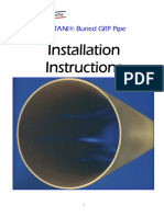 Watani Pipe Installation Instruction Manual