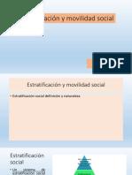 Estratificación y Movilidad Social