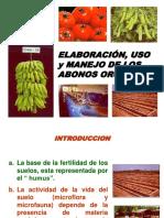 Elaboracion de Abonos Organicos