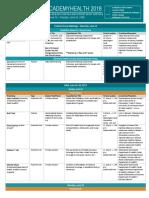 2018 SHADAC Presentation Schedule DRAFT_v3 6.13.14