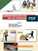 Exposicion Administracion Financiera de Los Inventarios