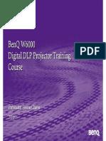 Benq W6000 Training