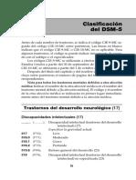 DSM V - Trastornos del neurodesarrollo
