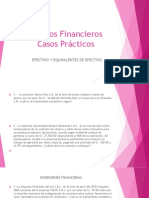 Estados Financieros CASOS PRACTICOS