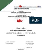 Comunicación Web de La Gestión Administrativa 1