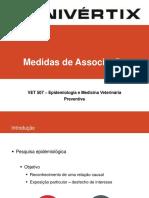 Aula 8 - Medidas de Associação e Medidas de Impacto