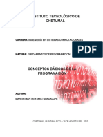 Conceptos Basicos de La Programacion