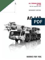 Documentation TEREX AC 140
