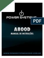Manual a800d