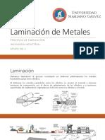 Laminacion de Metales