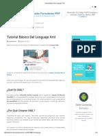 Tutorial Básico Del Lenguaje XML