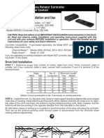 Channel Master CM9521A Manual