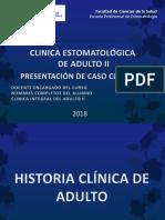 Caso Clinico de Adulto - VICTOR