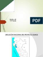 Proyecto Presa Limon